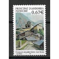 Andorre - Numéro 578 - Neuf sans Charnière