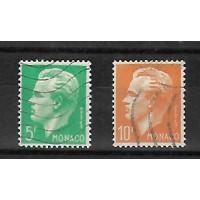 Monaco - Numéro 349 à 350 - Neuf sans Charnière