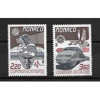 Monaco - Numéro 1626 à 1627 - Neuf sans Charnière