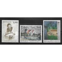 Monaco - Numéro 1693 à 1695 - Neuf sans Charnière