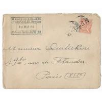 Enveloppe 1902, Annuaire Heraldique Paris, (Ref L23)