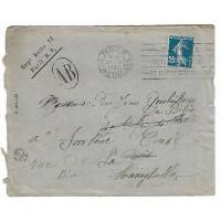 Enveloppe 1920, (Ref L29)