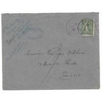 Enveloppe Lettre 1919, André Voituriez Notaire Cambrai Nord (Ref L45)