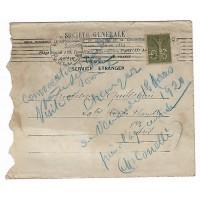 Enveloppe Lettre 1920, Timbre Perforé SG (Ref L46)