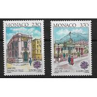 Monaco - Numéro 1724 à 1725 - Neuf sans Charnières