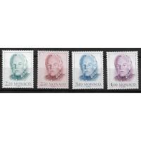 Monaco - Numéro 1779 à 1782 - Neuf sans Charnière