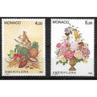 Monaco - Numéro 1830 à 1831 - Neuf sans Charnière