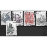 Monaco - Numéro 1834 à 1838 - Neuf sans Charnière