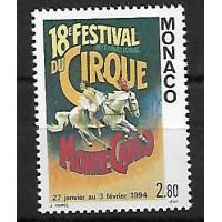 Monaco - Numéro 1854 - Neuf sans Charnière