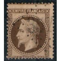 France - Numéro 30 - Oblitéré - Variété Piquage déplacé (ref J58)