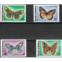 Lot de Timbres Thématique -Papillons - République des Maldives - (T005)