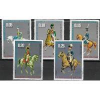 Lot de Timbres Thématique - Militaire - Républic de Guinea Ecuatorial - (T013)