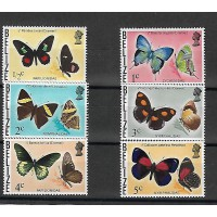 Timbre Thématique du Monde - Papillon - Belize - (T026)