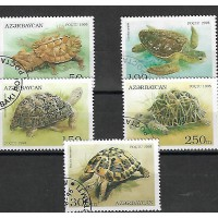 Timbre Thématique du Monde -Tortue -Azerbacan - (T028)