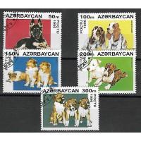 Timbre Thématique du Monde -Chien -Azerbacan - (T029)