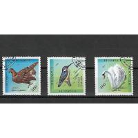 Timbre Thématique du Monde - Oiseaux -Belarus - (T030)