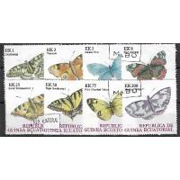 Timbre Thématique du Monde - Papillon - Republic Guinea Ecuatorial - (T037)