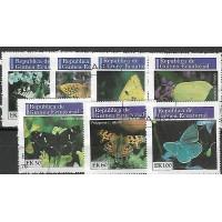 Timbre Thématique du Monde - Papillon - Republic Guinea Ecuatorial - (T039)