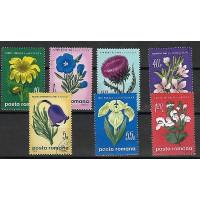 Lot de Timbres Thématique - Fleurs - Roumanie - (T065)