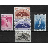 Lot de Timbres Thématique - Sport - Republique de Saint Marin - (T073)