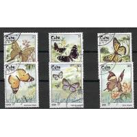 Lot de Timbres Thématique - Papillon - Cuba - (T099)