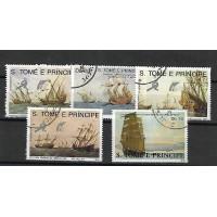 Lot de Timbres Thématique - Bateaux - Sao Tome et Principe - (T106)