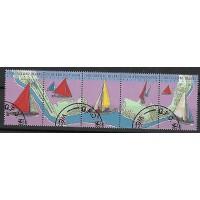 Lot de Timbres Thématique - Bateaux - Iles Cocos - (T109)