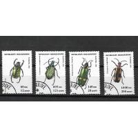 Lot de Timbres Thématique - Insectes - Madagascar - (T114)