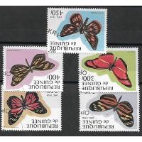 Lot de Timbres Thématique - Papillon - République de Guinée - (T142)