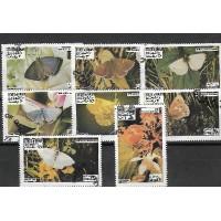 Lot de Timbres Thématique - Papillons - Oman - (T143)