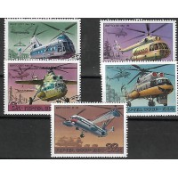 Lot de Timbres Thématique - Hélicoptères - Russie (CCCP) - (T173)