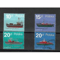 Lot de Timbres Thématique - Bateau - Pologne - (T182)