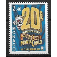 Monaco - Numéro 2026 - Neuf sans Charnière