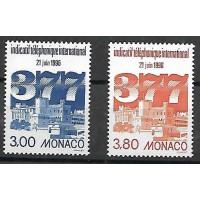 Monaco - Numéro 2051 & 2054 - Neuf sans Charnière