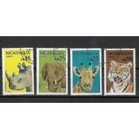 Timbre Thématique du Monde - Animaux - Nicaragua - (T197)