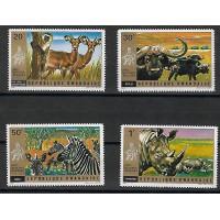 Timbre Thématique du Monde - Animaux - Republic de Rwanda - (T213)