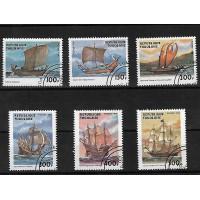 Timbre Thématique du Monde - Bateaux - Republic de Togolaie - (T224)