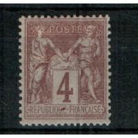 France - Numéro 88 - Neuf avec charnière