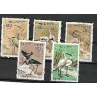 Timbre Thématique du Monde - Oiseaux - Vietnam - (T277)