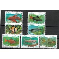 Timbre Thématique du Monde - Poisson - Vietnam - (T278)