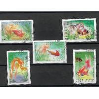 Timbre Thématique du Monde - Poisson - Vietnam - (T280)