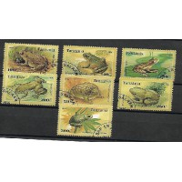 Timbre Thématique du Monde - Grenouille et Crapaud - Tanzanie - (T294)