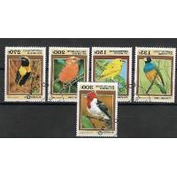 Timbre Thématique du Monde - Oiseaux - République du Benin - (T363)