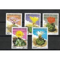 Timbre Thématique du Monde - Fleur - République du Benin - (T378)