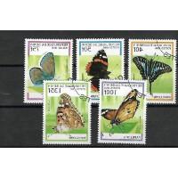 Timbre Thématique du Monde - Papillon - République du Benin - (T384)