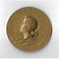 Médaille en Bronze Doré - Compagnie Générale Transatlantique