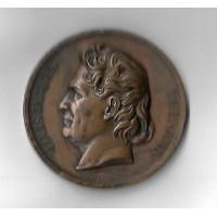 Médaille en Argent - Amis des Sciences - Louis Jacques Thenard