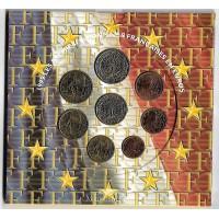 Lot BU 1999 - 2000 - 2001 Sous blister - Monnaie de Paris