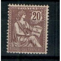 France - Numéro 126 - Neuf sans charnière et signé !