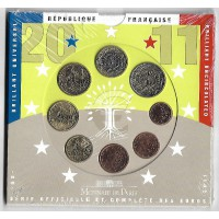 BU France 2011 - sous blister - Monnaie de Paris